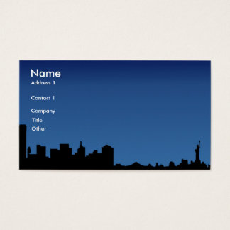 ny, Name, Address 1, Company, Title, Other, Con... Business Card