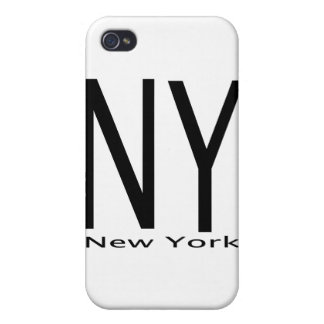 NY New York black iPhone 4/4S Cover