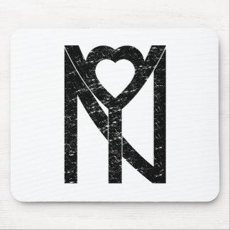 NY New York love Mouse Pad