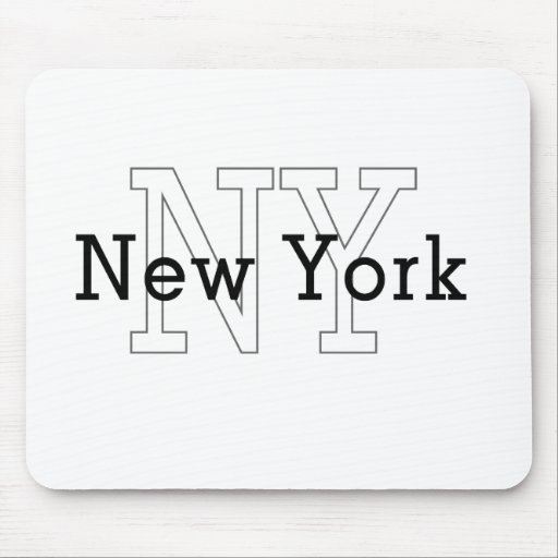 NY, Nueva York Alfombrilla De Raton