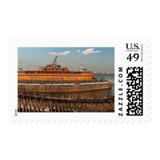 NY, NY - el transbordador de Staten Island Sellos