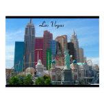 ny ny, frontera de Las Vegas Tarjeta Postal