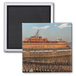 NY, NY - The Staten Island Ferry Fridge Magnet