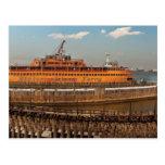 NY, NY - The Staten Island Ferry Postcard