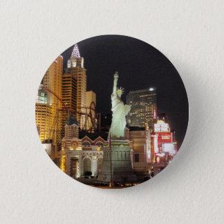 NY, NY - Vegas Pinback Button