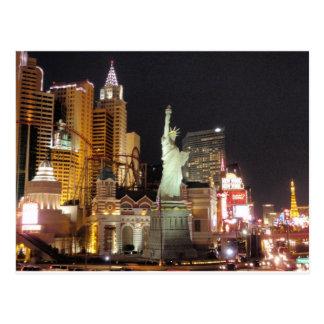 NY, NY - Vegas Tarjeta Postal