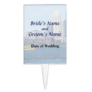 NY - NY Water Taxi Wedding Products Cake Topper