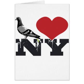 NY Pigeon Card