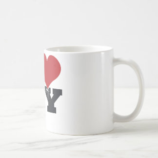 NY Pigeon Classic White Coffee Mug