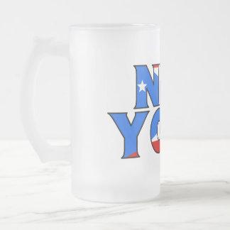 NY - PR Frosted Mug