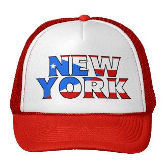 NY - PR Trucker Trucker Hat