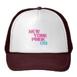 ny pride 09 trucker hats