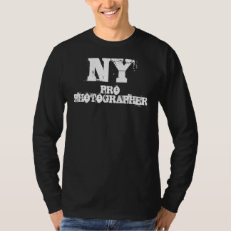 NY PRO PHOTOGRAPHER Long Sleeve Shirt