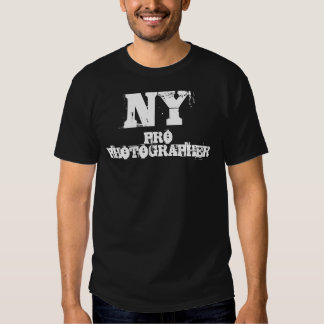 NY PRO PHOTOGRAPHER T-Shirt