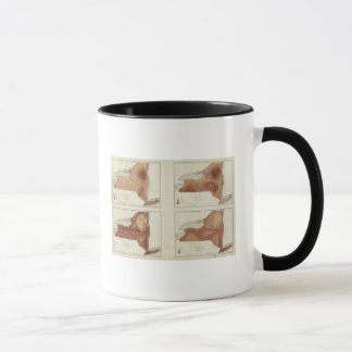 NY rainfall, population, elevation, temperature Mug