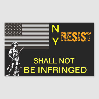 NY Resistance Stickers