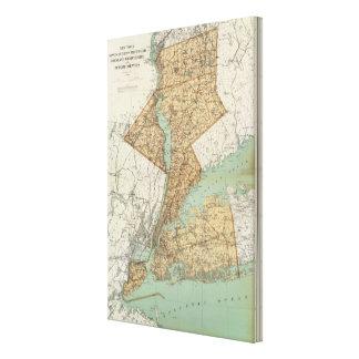 NY, reyes, Queens, Richmond, Rockland Impresiones En Lienzo Estiradas
