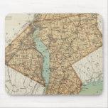 NY, reyes, Queens, Richmond, Rockland Tapete De Ratones