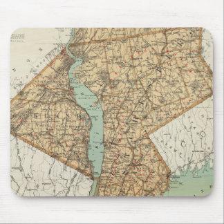 NY, reyes, Queens, Richmond, Rockland Alfombrilla De Ratones