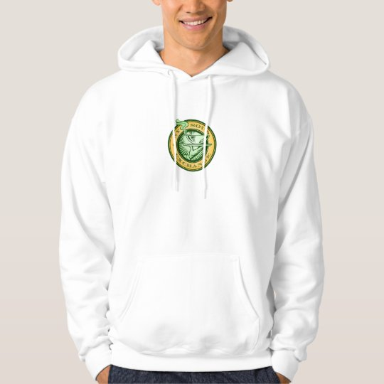 NY Soup Exchange Hooded Logo Pullover
