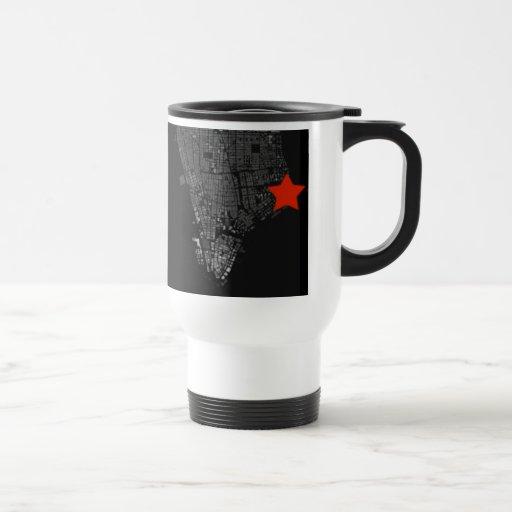 NY Star Travel Mug