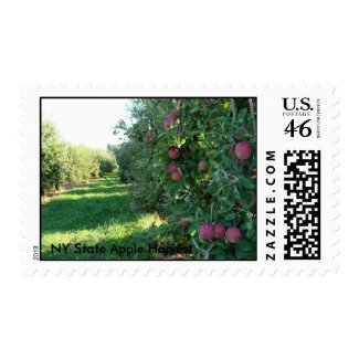 NY State Apple Harvest stamp