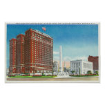 NY State Office, Statler Hotel Poster