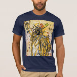 NY Travel Poster Statue of liberty July 4th T-Shirt