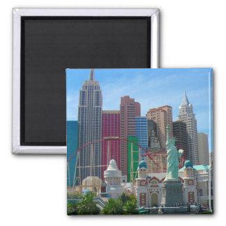 ny vegas 2 inch square magnet