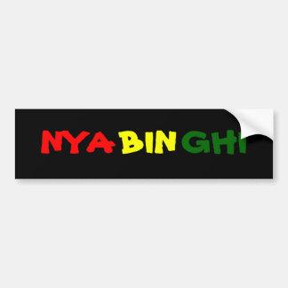 Nyahbinghi Pegatina Para Auto