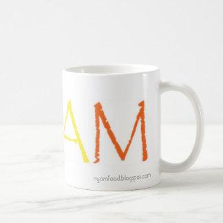 NYAM food blog signature mug