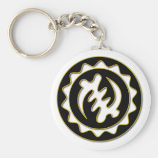 Nyame Ye Ohene | God is King symbol Keychain