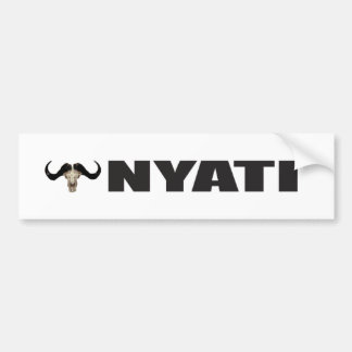Nyati Bumper Sticker