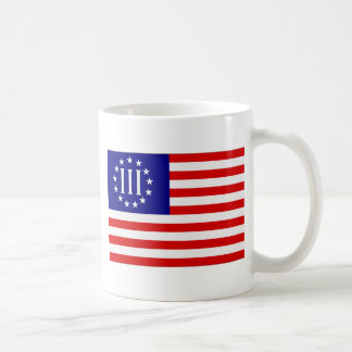Nyberg Three Percent Flag Coffee Mug