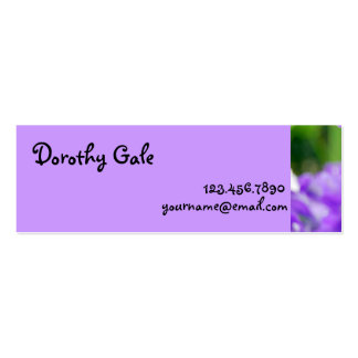 NYBG: No. 290 [Skinny] Double-Sided Mini Business Cards (Pack Of 20)