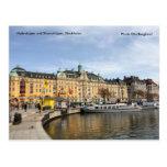 Nybrokajen and Strandvägen, Stock... Postcard