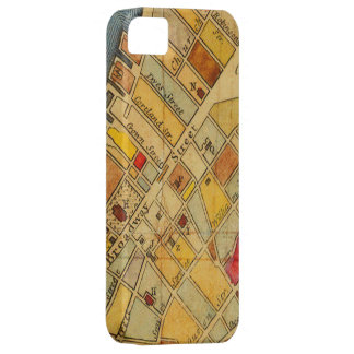 NYC 1700s Map iPhone 5/5S, Barely There iPhone 5 Covers