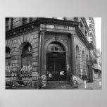 NYC, 2003 abandonó el edificio Poster