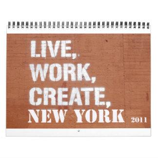 NYC 2011 Calendar