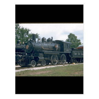 NYC 4-4-0 #999, the first locomotive_Trains Postcard
