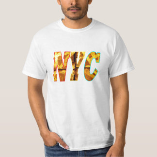 NYC and a Graffiti wall in Brooklyn, New York City T-Shirt