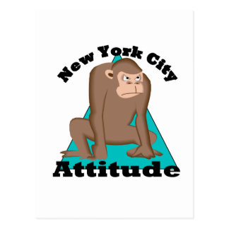 NYC Attitude Postcard