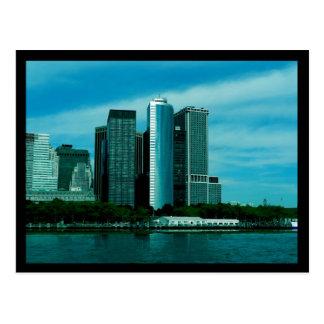 NYC Battery Postcard