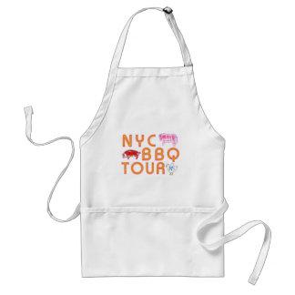 NYC BBQ Tour Adult Apron
