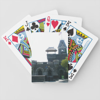 NYC Belvedere Castle Bicycle Playing Cards