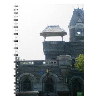 NYC Belvedere Castle Spiral Notebooks
