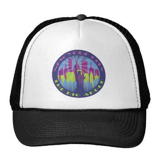 nyc big apple cool trucker hat zazzle