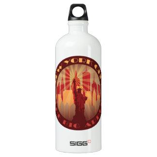 NYC Big Apple Hot Aluminum Water Bottle