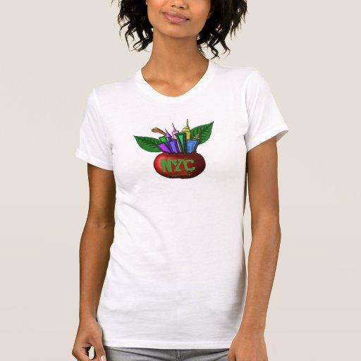NYC big apple t-shirt design