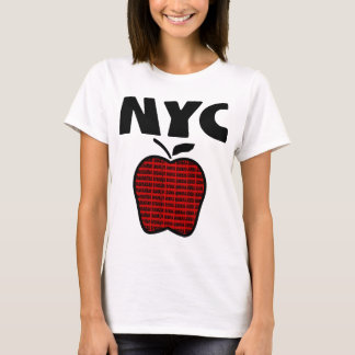 NYC - Big Apple With All 5 Boroughs T-Shirt